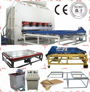Short Cycle Furniture Laminating Hot Press Machine pictures & photos