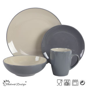 Cheap Ceramic Stoneware 16PCS Dinner Set pictures & photos