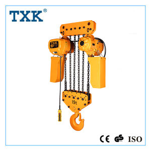 Large Loading Capacity Electric Chain Hoist 15 Ton to 50 Ton pictures & photos
