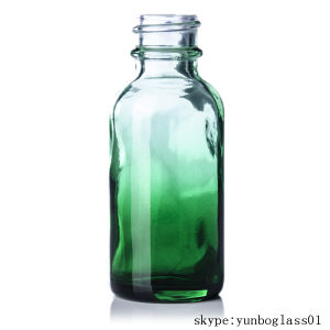 15ml 1 Oz 2oz Green Blue Shaded Glass Bottle for Perfume