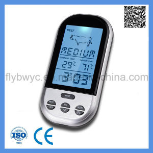 Digital Food Meat Probe Thermometer Wireless Cooking Kitchen BBQ Oven Digital Thermometer pictures & photos