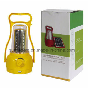 LED Solar Camping Light for Camping Outdoor Warehouse Indoor Use pictures & photos