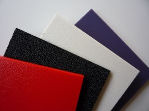 Muilt Color 2mm Thickness Textured Surface ABS Plastic Sheet