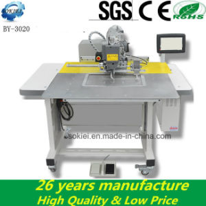 Automatic Industrial Embroidery Programmable Pattern Sewing Machine pictures & photos