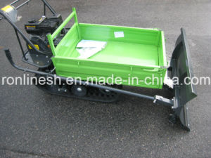 6.5HP Engine Powered, 300kgs Rubber Track Mini Dumper/Wheel Barrow/ Muck Truck/ Garden Transporter/Loader/Mini Transporter W CE Optional Snow Plow pictures & photos
