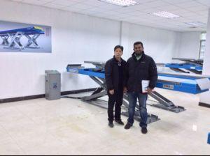 4500kg Stronger Basement Car Lifting Hoist pictures & photos