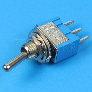 on-on Spdt Mini PCB Toggle Switch (MTS-102-A2) pictures & photos