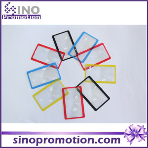 Wholesale Custom Different Colors Credit Card Size 3X Magnifier