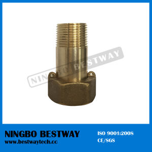 Best Selling Lead Free Brass Water Meter Fitting Coupling Supplier pictures & photos