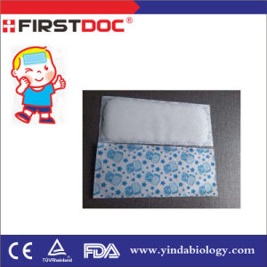 Wholesale Price Good Quality Menthol Cooling Gel Patch for Fever, Headache pictures & photos