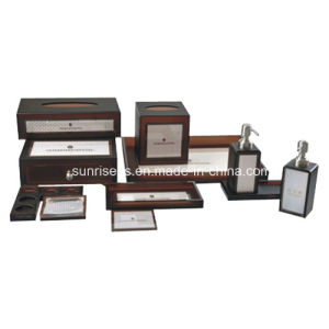 Hotel Bathroom Accessories Set with Acrylic Material pictures & photos
