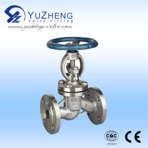Stainless Steel 304/316 Flanged Globe Valve pictures & photos
