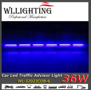 Truck Top Mount LED Light Bar 36W Blue Color pictures & photos