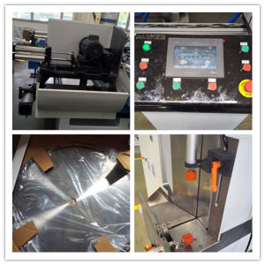 CNC Automatic Double Head Aluminum Profile Window Door Cutting Saw pictures & photos