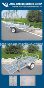 Hot Dipped Galvanized ATV Car Trailer pictures & photos