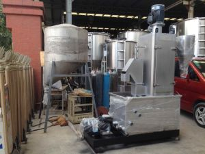 China Automatic Stainless Steel Plastic Dewatering Machine Drying Plastic Flakes pictures & photos