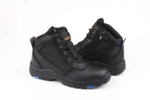 Hiking Safety Boots with PU/Rubber Outsole (SN5285) pictures & photos