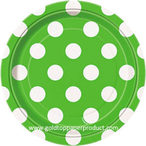Disposable Paper Plates Distributor China pictures & photos