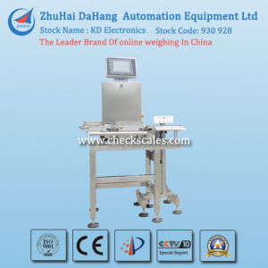 Dahang Brand Conveyor Belt Checkweigher for Package Sanitary Towel pictures & photos