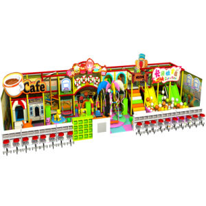 Candy Theme Children Plastic Indoor Amusement Playground pictures & photos