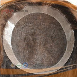 Stock Human Remy Hair Full French Front Lace Wig (PPG-c-0101) pictures & photos