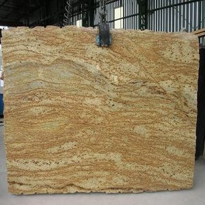 Polished Imperial Gold Chinese Marble Slab/Tile/Stair/Countertop pictures & photos