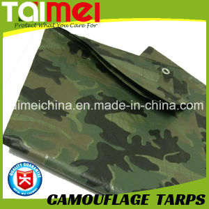 80GSM-200GSM Camo Tarps China Manufactured Waterproof PE Tarpaulin pictures & photos