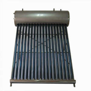 Copper Heat Pipe DIY Solar Water Heater Plans with Pressure Valve pictures & photos
