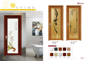 Glass Aluminum Interior Casement Door pictures & photos