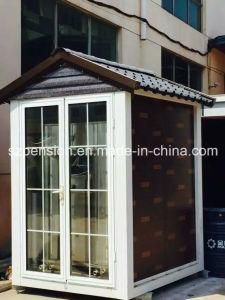 Low Cost Small Mobile Prefabricated/Prefab House for Road Guard in China pictures & photos