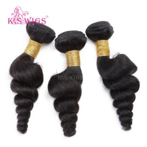Virgin Human Hair Weft Remy Hair Extension pictures & photos