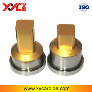 Tungsten Carbide Punching Tools with Tin Coating for Compacting Powder pictures & photos