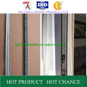 Weather Strip with Fin, Adhesive Weather Strip, Door Seal Strip pictures & photos