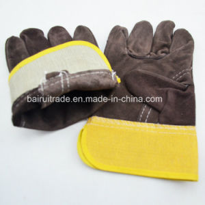 Leather Gloves Welding Gloves with Various Colors pictures & photos