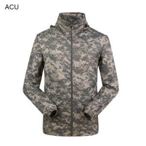 Tactical Hunting Military Windproof Sports Fast Dry Breathable Coat Cl34-0063 pictures & photos