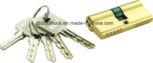 High Security Double Pins Groove Key Lock Cylinder (C3360-261 BP) pictures & photos