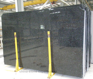 Polished Angola Black Granite Countertop for Kitchen (YQG-GC1004) pictures & photos