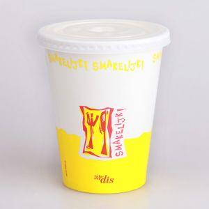 Customize Cold Drinking Paper Cup/ Milk Shake Paper Cup pictures & photos