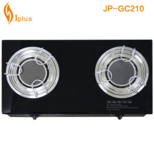 Tempered Glass 2 Burner Gas Cooker Jp-Gc201 pictures & photos