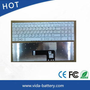 New Laptop Keyboard for Sony Vaio 15/Svf15/Svf15e Series Ru White pictures & photos