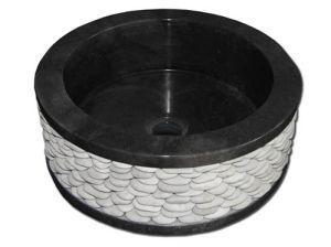 Hot Nice Price Granite Bathroom Stone Wash Sink pictures & photos