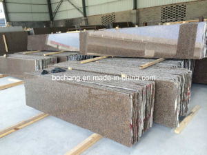 Polished Tan Brown Granite Slab for Countertop pictures & photos