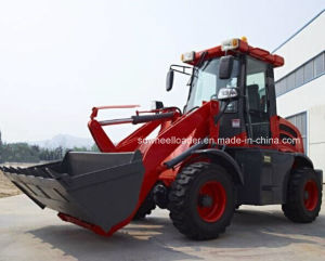 CE Wheel Loader Radlader with Quick Hitch pictures & photos