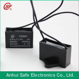 Plastic Case for Capacitor Cbb61-a-21 pictures & photos