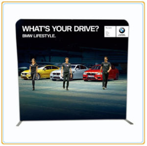 10FT Straight Trade Show Tension Fabric Display Stand pictures & photos