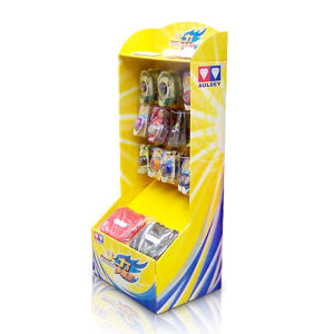 Cmyk Printing Cardboard Display with Hooks for Toys pictures & photos