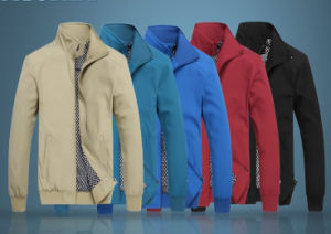 Custom Man Outdoor Sports Winter Softshell Jacket pictures & photos