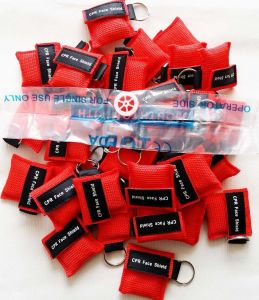 Mouth to Mouth CPR Face Mask for Customized Logo Gifts