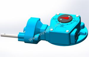 Rhw20lpd4 Worm Gearbox for Valve pictures & photos
