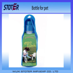 Portable 500ml Folding Pet Water Dispenser Dog Cat Water Bottle F pictures & photos